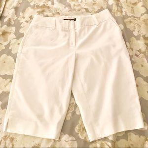 Apt. 9 White Bermuda Shorts